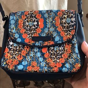 Vera Bradley sequin crossbody small bag MARRAKESH